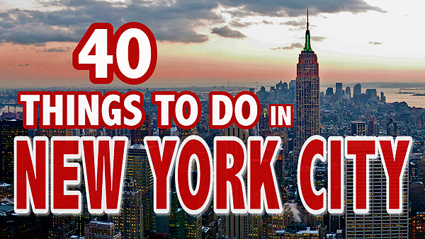 40 things to do in new york city video grrrl traveler for Things to do in new york city with toddlers