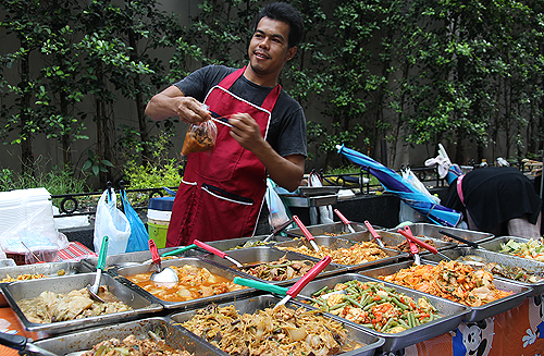 thai food sellers