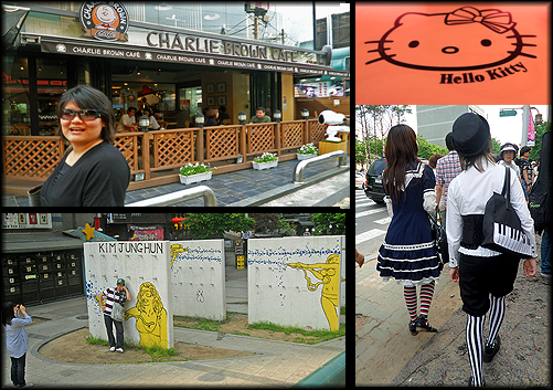 hangdae fashion and art, cafes in hongdae, cool cafes in seoul, cool cafes in korea, hello kitty cafe korea, what to do in hongdae, korea travel tips, where to go in hongdae