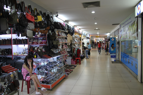 lalit sao market, shopping in Vientiane