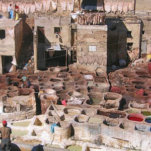 moroccan tanneries