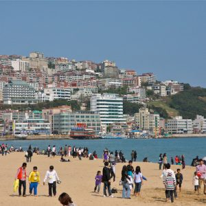 haeundae beach, busan tourism, travel busan,