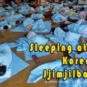 sleeping at a korean jjimjilbang, haeundae beach spa busan, best jjimjilbangs in busan