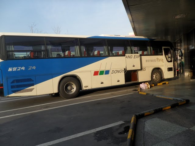 express bus korea from daegu to seoul