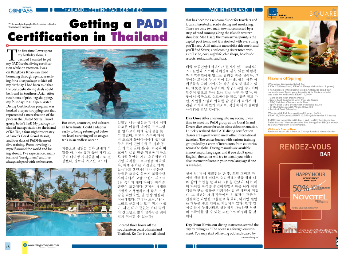Getting a scuba diving certification in thailand with padi save xflitez Gallery