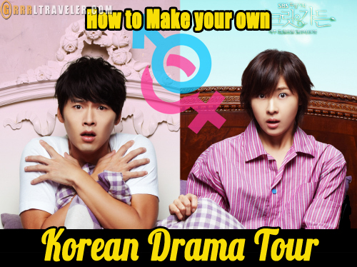 Make your own Korean drama tour in Korea