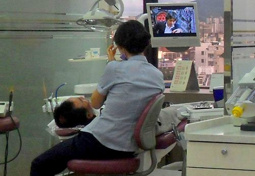 going to a dentist in korea