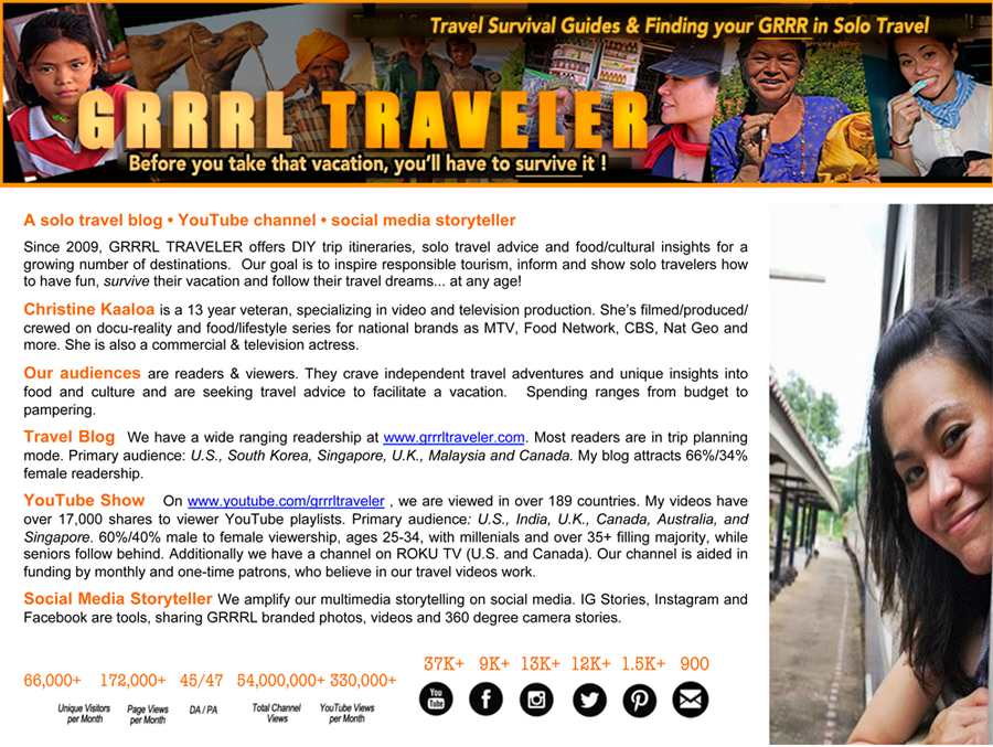 Work with GRRRL TRAVELER
