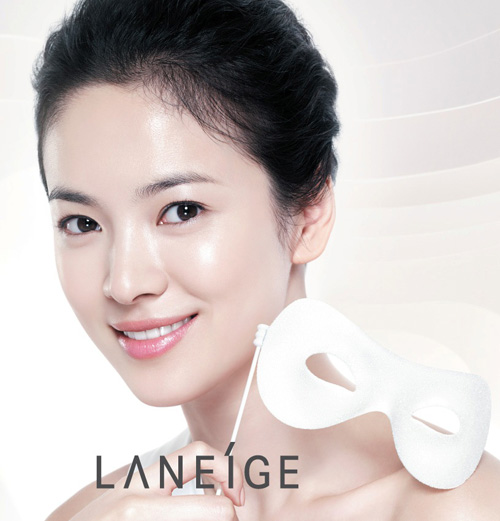song hye laniege snow