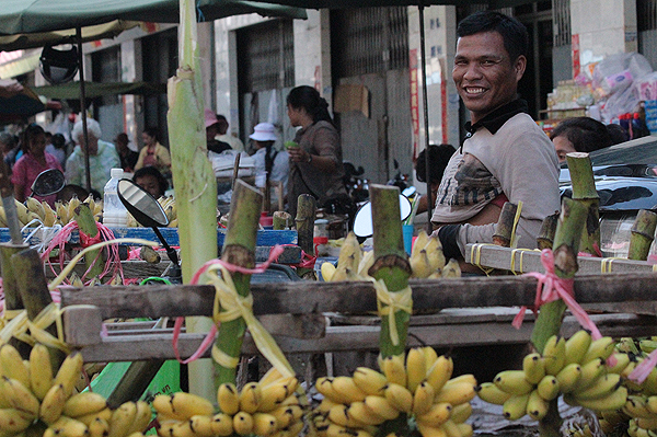 cambodian bananas, khmer local produce