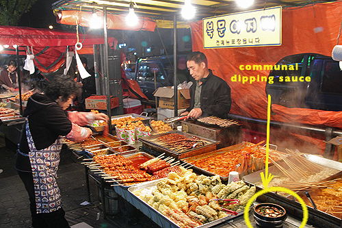 street food korea, food hawkers in korea, food hawkers in asia, korean street food