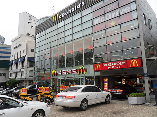 mc donalds delivery, mc donalds in korea, mc donalds in seoul