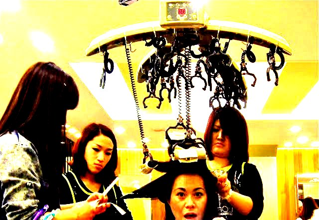 Getting My Hair Done In Korea Magic Volume Hair Grrrl Traveler