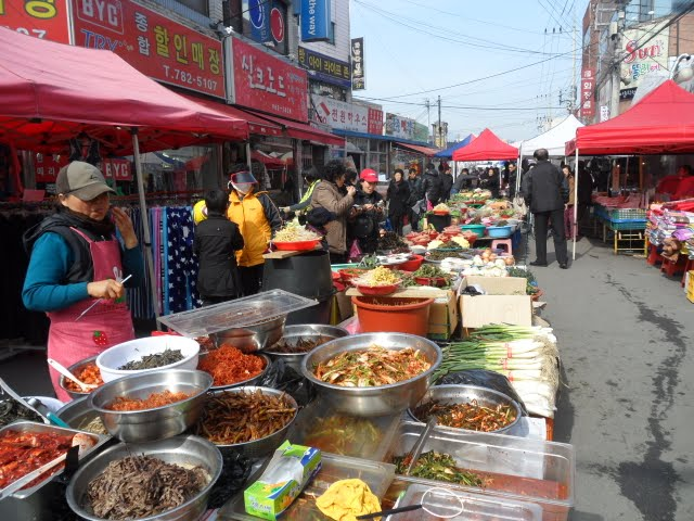 my korean neighborhood singi-dong daegu, korean marketplaces daegu