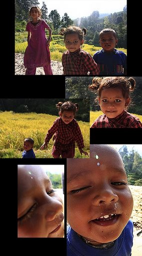 nepalese village children