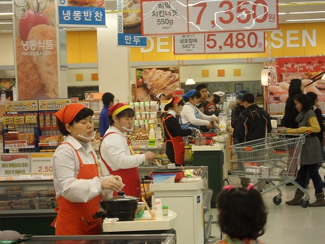 korean stores, western friendly stores in korea, stores for expats in korea, English stores in Korea, where can an expat in Korea go to get food from home