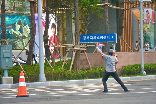 parking greeters in korea, lotte shopping greeter, korean stores, western friendly stores in korea, stores for expats in korea, English stores in Korea, where can an expat in Korea go to get food from home