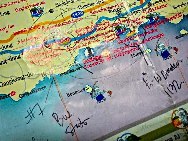 travel tips with maps, travel tips for jeju island map