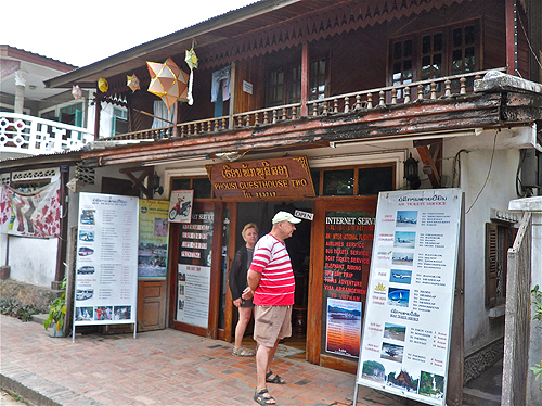 guesthouse in laos, guesthouse in luang prabang, tour agency in luang prabang