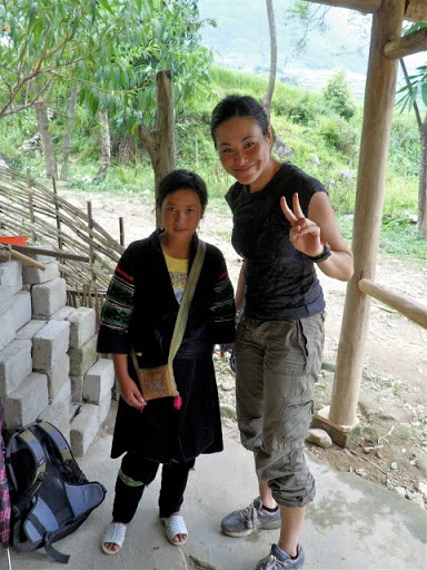 hiking in sapa valley, sapa trekking guide, grrrltraveler in Sapa, trekking in Vietnam