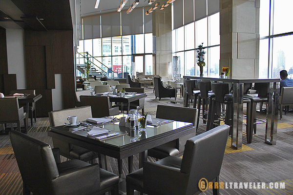 Executive dining at Amari Hotel Bangkok, best hotels in bangkok