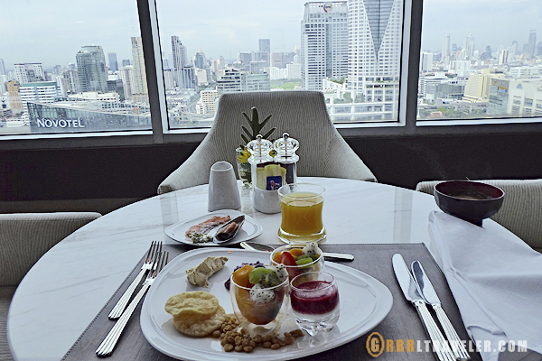 Amari hotel, executive dining at the Amari Watergate Bangkok