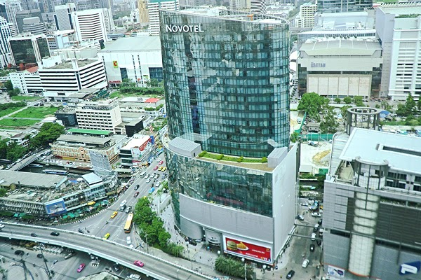 Aerial view of Bangkok, Executive Suites at Amari Hotel Bangkok, best hotels in bangkok, luxury hotels bangkok, top hotels bangkok