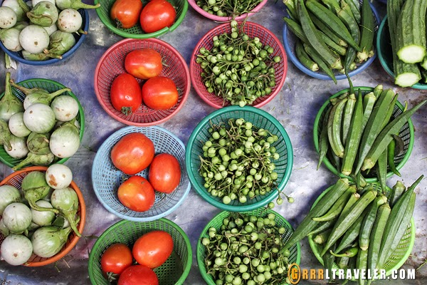 vegetables, thailand vegetables, markets in southeast asia