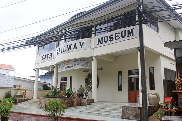 Death Railway Museum in Kachanaburi, kachanaburi tour guide, jeath museum