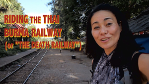 video of kanchanaburi thai burma railway