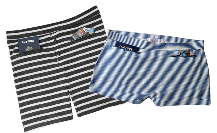 clever travel companion underwear review