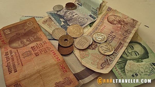 world currency, asian money, world money, how to keep organized when you travel, organizing currency in travel