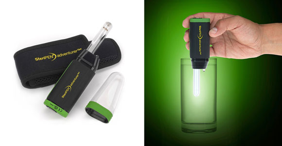 steripen adventurer, steripen water purifier