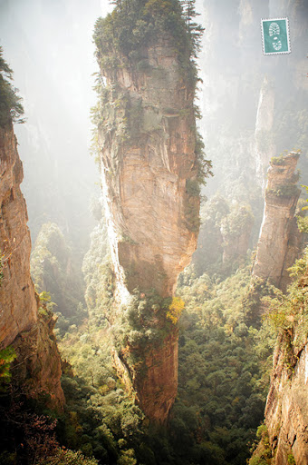 The floating Hallelujah Mountains, e-tramping, Top 5 Budget Places in China