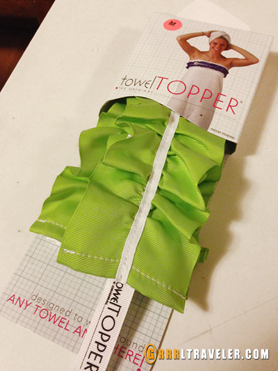 towel topper review, travel gadgets