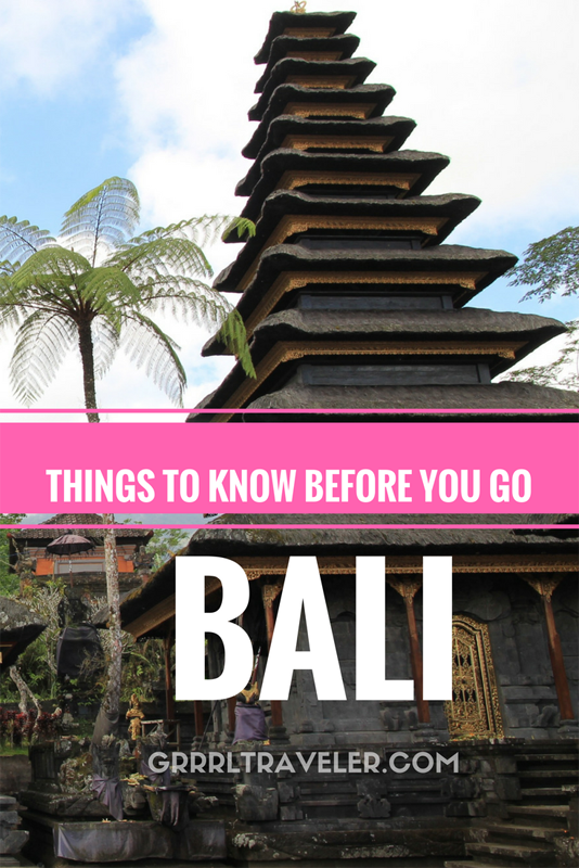 Things to know before you go Bali, Bali Essential Travel Tips,