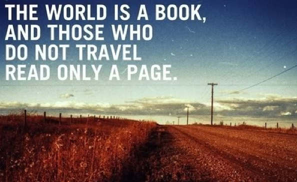 inspirational, travel quotes, travel inspiration, world is a book quote