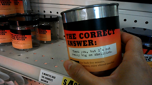 correct answers, Time Travel Mart in Echo Park, weird museums los angeles, things to do los angeles, weird museums los angeles