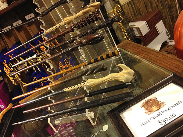 wizard wands, harry potter wands, diagon alley wands, book of spells, harry potter book of spells, Whimsic Alley, harry potter store los angeles, weird museums los angeles, things to do los angeles, weird museums los angeles, whimsic alley