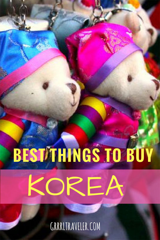 Best things to Buy Korea