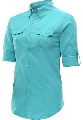 Columbia-Womens-Tamiami-Long-Sleeve-Shirt, alpine design UV SPF shirt