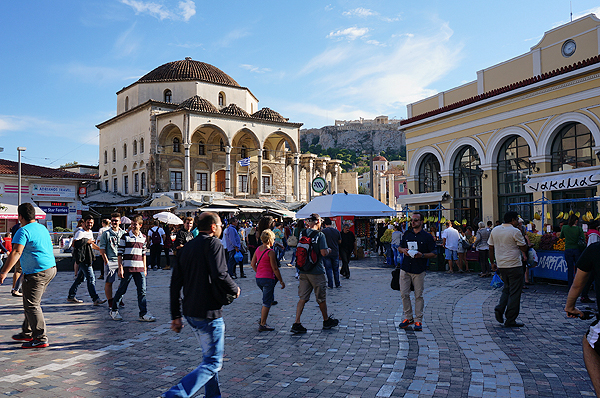 things to do in athens, athens travel guide, monastiraki square
