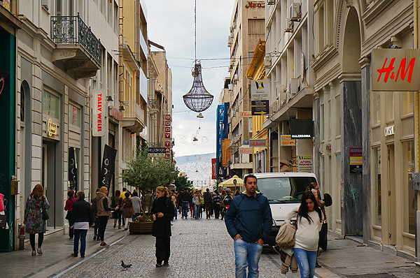 Syntagma Square Shopping, things to do in athens, athens travel guide