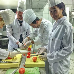 chef cooking class Sirkeci