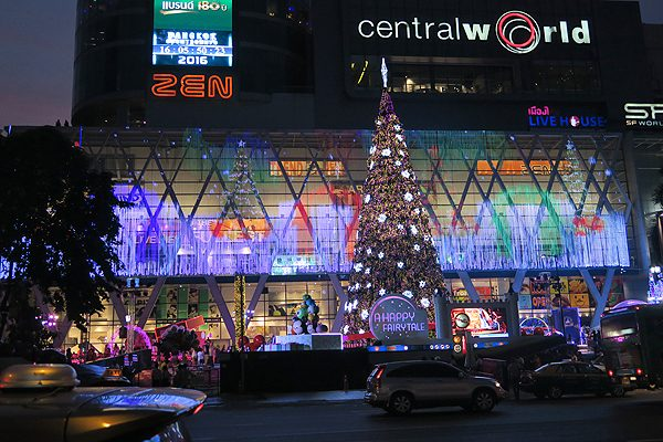 Christmas in Bangkok, christmas at central world, nye at central world