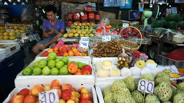 Fruit stall in Bangrak