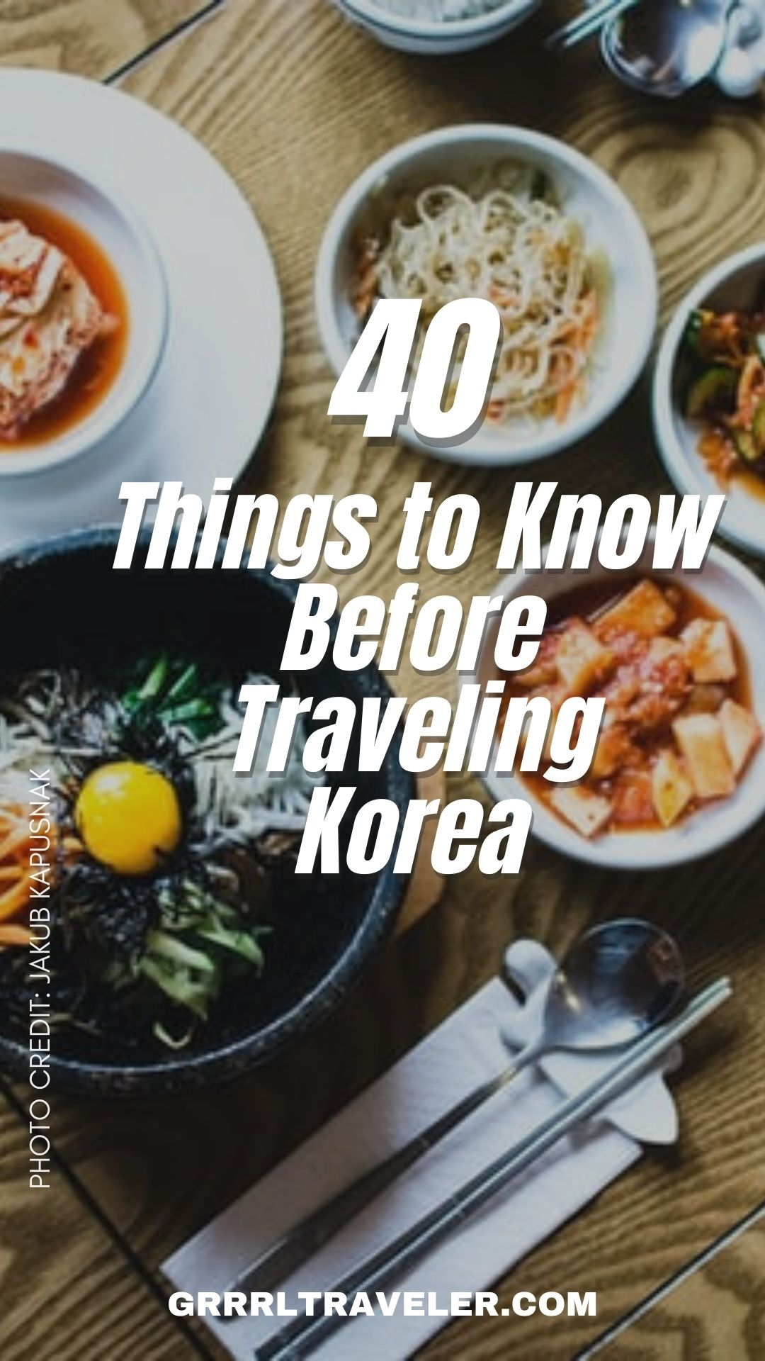 things to know before traveling korea