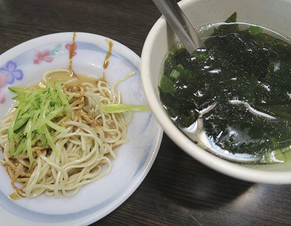 Top Taiwanese foods, cold noodles