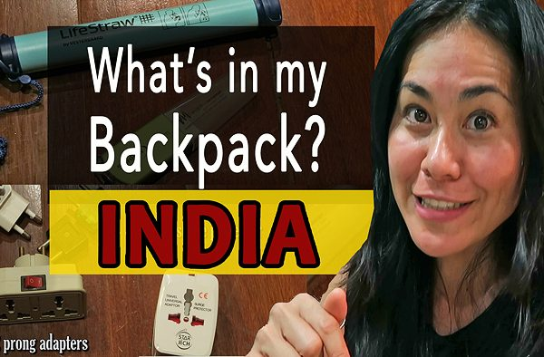 Packing List for Backpacking India, packing for india