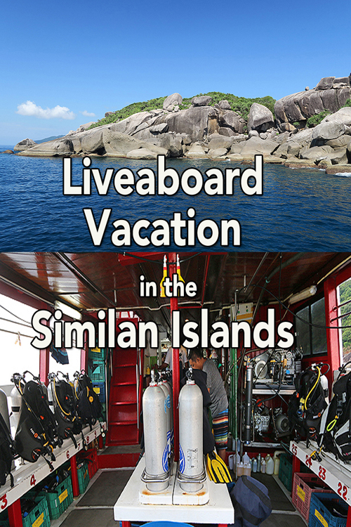 Liveaboard Vacation Similan Island, Wicked Diving